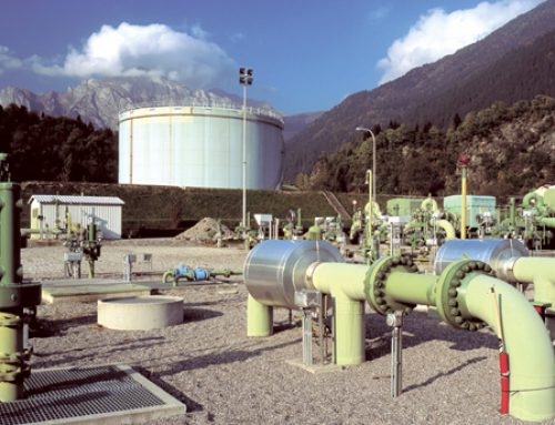Baba Hossein Bridge Oil Pumping Station