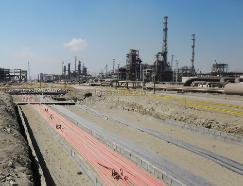 Areas 20 and 30 of Persian Gulf Star Refinery Electrical Equipment